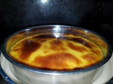 Creme Caramel in an Oven Dish