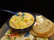 Potato and Meatball Soup for Kids