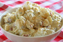 Potato Salad with Yogurt