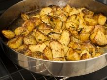 Spiced Oven Baked Potatoes