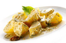 Greek Style Potatoes with Mayonnaise