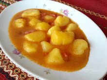 Potato Dish with Tomatoes