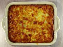 Gratin with Feta Cheese and Cheese