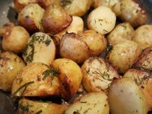 Potatoes with Dill and Garlic