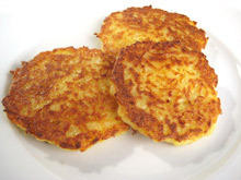 Potato Patties with Cheese