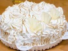 French Meringue Cake