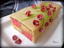 Battenberg Cake with Almond Marzipan