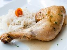 Dobrudja-Style Chicken with Rice