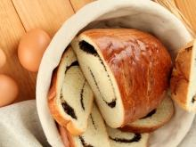 Panettone Loaf with Jam