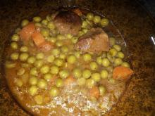 Tender Veal with Peas