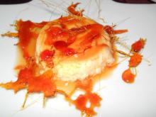 Crème Caramel with a Caramel Decoration