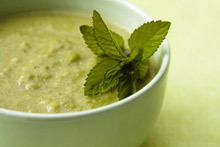 Cream Soup with Potatoes and Nettle