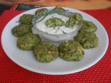 Broccoli Meatballs with Buckwheat