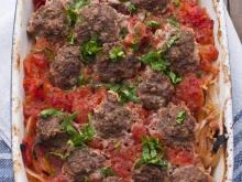 Baked Meatballs with Potatoes