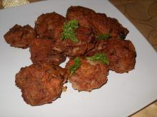 Fried Meatballs with Fenugreek and Green Onions