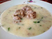 Zvezdev`s Meatballs with White Sauce