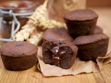Chocolate Muffins with Liquid Insides