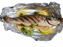 Fish in Tin Foil