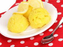 Italian Ice Dessert with Lemons