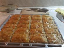 Easy Baklava with Walnuts