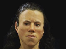 Experts Reconstruct Face of Greek Girl from the Mesolithic