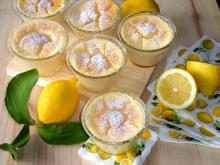 Lemon Cakes in Cups