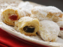 Turkish Delight Cookies with White Wine