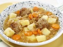 Meatball Soup with Potatoes