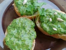 Parsley Pesto with Olives