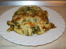 Macaroni with Nuts and Spinach