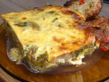 Macedonian Moussaka with Leeks and Mince