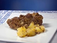 Dish with Potatoes and Mince