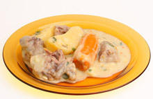 Pork with Cream and Garlic