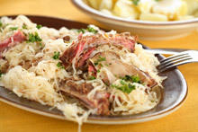 Pork Ribs with Sauerkraut