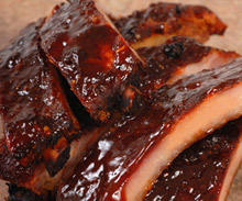 Honey Ribs with Beer