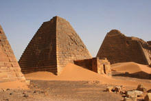 Nubian Pyramids - a worthy competitor to the Egyptian