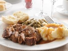 Pork with Sweet Wine Sauce