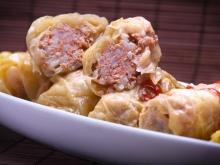 Stuffed Cold Cabbage Leaves