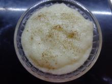 Milk with Semolina and Pears