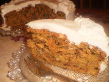 Carrot Cake with a Tasty Glaze
