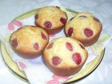 Fluffy Muffins with Cherries