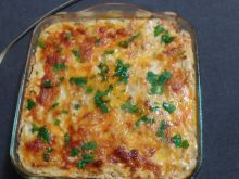Macaroni Moussaka with Zucchini and Mince