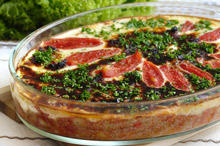 Moussaka with Minced Meat and Vegetables