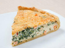 Spinach and Carrots Pie