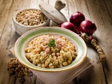 Monastery Style Chickpeas with Rice