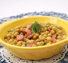 Soup with Chickpeas and Chorizo