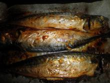 Natural Oven Grilled Mackerel