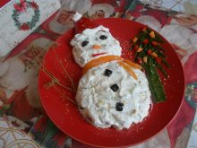 Frosty New Year`s Salad