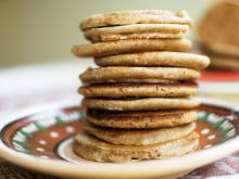 Oat Pancakes with Soy Sauce