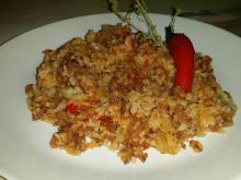 Rice with Mince in the Oven